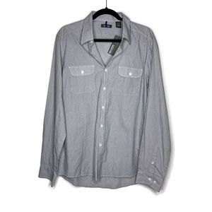 NEW Men's Kenneth Cole Reaction Button Down Shirt